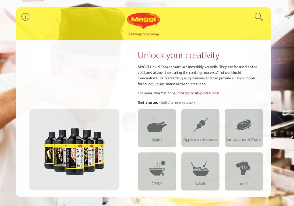 Maggi Recipe Pro - App and Website